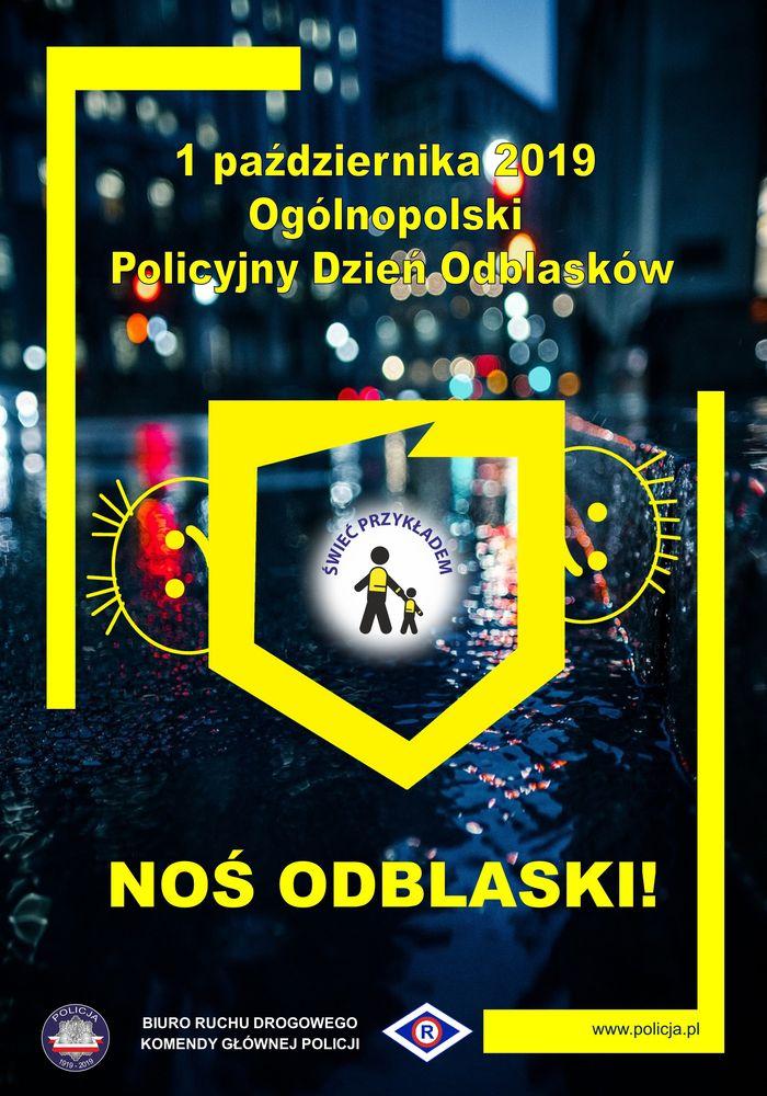 Ogólnopolski policyjny dzień odblasków.