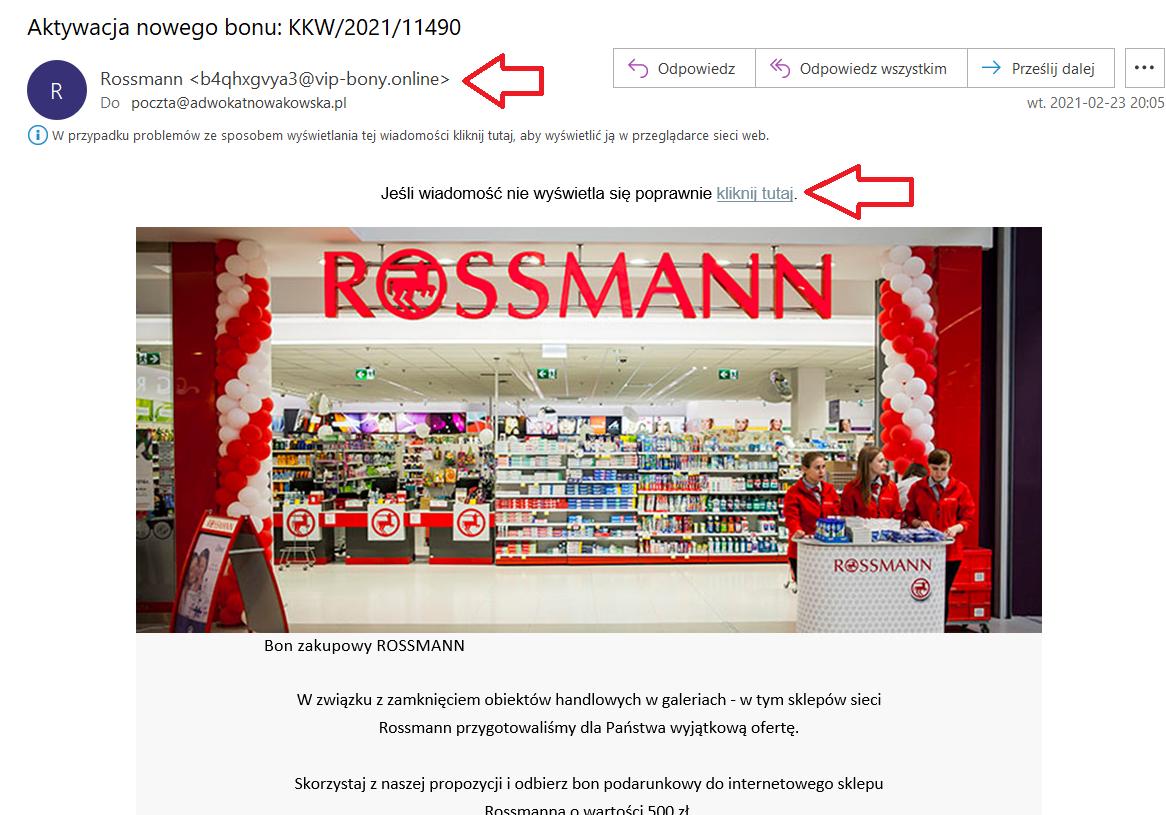 Bony do Rossmann'a wracają