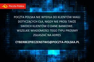 Poczta Polska odnotowała próby cyberoszustw związanych z zakupami w chińskich sklepach.