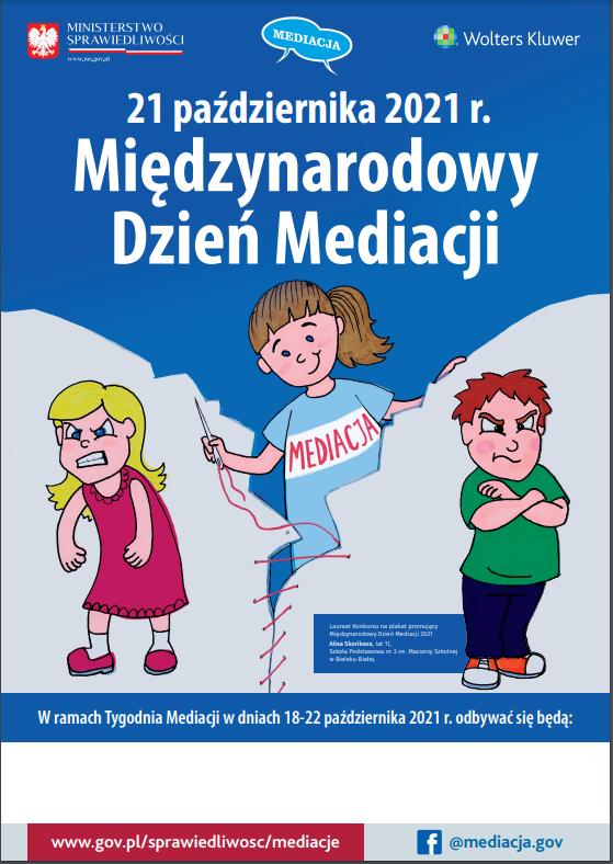 Międzynarodowy Tydzień Mediacji 18-22 października 2021